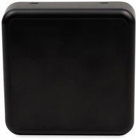 Vorschau: Raumsensorgehäuse, AXXATRONIC, CamdenBoss CBRS01SBK, schwarz, 86x86x25,5mm