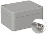 Vorschau: POLLIN, Polycarbonat Gehäuse, 65 x 50 x 35 mm, IP66, Lichtgrau