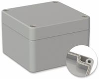 Vorschau: POLLIN, Polycarbonat Gehäuse, 82 x 80 x 55 mm, IP66, Lichtgrau