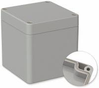 Vorschau: POLLIN, Polycarbonat Gehäuse, 82 x 80 x 85 mm, IP66, Lichtgrau