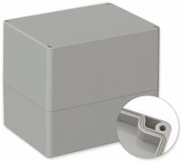 Vorschau: POLLIN, Polycarbonat Gehäuse, 160 x 120 x 140 mm, IP66, Lichtgrau