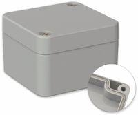 Vorschau: POLLIN, ABS Gehäuse, 52 x 50 x 35 mm, IP66, Lichtgrau