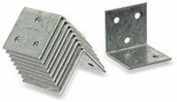 Vorschau: Winkelverbinder 40x40x40x2 mm, 10 Stück