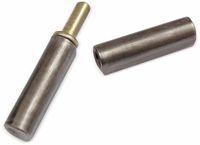 Vorschau: Bandrolle, Anschweißscharnier, 120x16 mm, 2-teilig, Stahl