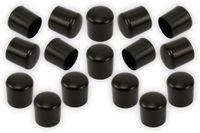 Vorschau: Stuhlgleiter 18 mm, 16 Stück, schwarz