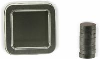 Vorschau: Ferritmagnete, 8 Stück, mit Aufbewahrungsbox