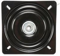 Vorschau: Drehteller, 195x195x22 mm, Stahl
