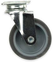 Vorschau: Lenk-Laufrolle, grau, Ø75 mm