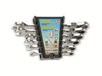 Vorschau: Gabel-Ratschenring-Schlüsselsatz KRAFTMANN 30004, 6-teilig, 8-19 mm