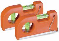 Vorschau: Wasserwaage mit Magnet und Clip, 2er Set