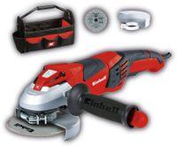 Vorschau: Winkelschleifer EINHELL TE-AG 125 CE Kit, 1100 W, 125mm