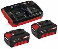 Vorschau: PXC-Starter-Kit EINHELL 2x 3,0Ah & Twincharger Kit