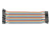Vorschau: Steckboard-Verbindungsleitungen, Kupplung/Kupplung, 40-polig