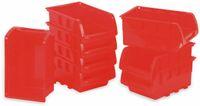 Vorschau: Stapelsichtbox KINZO, 120x100x70 mm, 8 Stück, rot