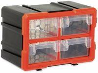 Vorschau: Werkzeugbox DAYTOOLS TW2021, Kunststoff,4-teilig, schwarz/orange