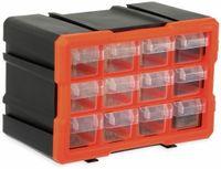 Vorschau: Werkzeugbox DAYTOOLS TW2022, Kunststoff,12-teilig, schwarz/orange