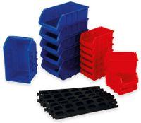 Vorschau: Stapelsichtbox DAYTOOLS RK-1031, 20-teilig, stapelbar, blau/rot