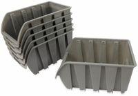 Vorschau: Stapelsichtbox DAYTOOLS RK-1033, 6 Stück, grau, 237x144x125 mm