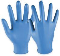 Vorschau: Einweghandschuhe aus Nitril, HASE SAFTEY GLOVES, EN 374-1, EN 420 Größe 8, 100 Stück