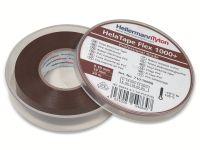 Vorschau: Isolierband, HellermannTyton, 710-10608, HTAPE-FLEX1000+, braun, 19mmx20m, Box