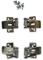 Vorschau: Montagesatz OPTONICA, 4 Federclips für LED-Panels