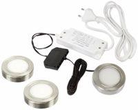 Vorschau: LED-Aufbauleuchtenset DAYLITE LAS-3/250KW, EEK: A+, 3,6 W, 250 lm, 6000 k