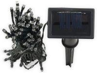 Vorschau: Solar-Lichterkette, 50 LEDs, kaltweiß