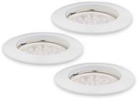 Vorschau: LED-Einbauleuchte Müller-Licht 21530001, EEK: 7W, 400lm, 2700K, weiß, 3 St