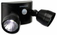 Vorschau: LED- Doppelleuchte GRUNDIG, mit Bewegungssensor, schwarz, Batteriebetrieb