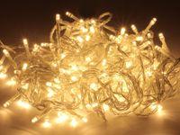 Vorschau: LED-Lichterkette, 180 LEDs, warmweiß, 230V~, IP44, Innen/Außen