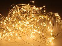 Vorschau: LED-Lichterkette, warmweiß, 300 LEDs, halbtransparent, 230V~, Innen/Außen