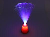 Vorschau: Glasfaserlampe mit Farbwechsler, 30 cm