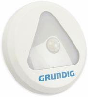 Vorschau: LED-Sensorlampe Grundig, mit Bewegungsmelder, Batteriebetrieb, weiß