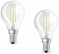 Vorschau: LED-Lampe OSRAM BASE CLASSIC P, E14, EEK: A++, 4 W, 470 lm, 2700 K, 2 Stück