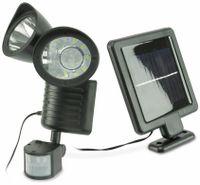 Vorschau: Solar LED-Strahler mit Bewegungsmelder, 1 W, 180 lm, 4200 K, schwarz