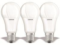 Vorschau: LED-Lampe OSRAM BASE C60, E27, EEK: F, 14W, 1521 lm, 2700 K, 3 Stück