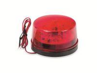 Vorschau: LED-Blinkleuchte, Ø 73 mm, 12 V-, rot