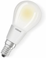 Vorschau: LED-Lampe OSRAM RETROFIT CLASSIC P, E14, EEK: A++, 6 W, 806 lm, 2700 K, dimmbar