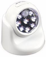 Vorschau: LED-Nachtlicht mit Bewegungsmelder, 8LEDs