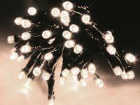 Vorschau: LED-Lichterkette, 180 LEDs, kaltweiß, 230V~, IP44, 8 Funktionen, Memory