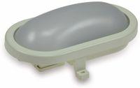 Vorschau: LED-Oval-Leuchte 22266, EEK: A+, 12 W, 960 lm, 3000 K, 216 mm, grau