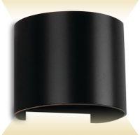 Vorschau: LED-Wand Leuchte V-TAC VT-756 (7090), EEK: A++, 6 W, 660 lm, 4000 K, schw.