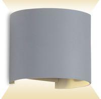 Vorschau: LED-Wandleuchte V-TAC VT-756 (7092), EEK: A++, 6 W, 660 lm, 4000 K, grau