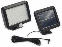 Vorschau: Solar LED-Fluter mit Bewegungsmelder, 5,5 W, 450 lm, 4200 K, schwarz