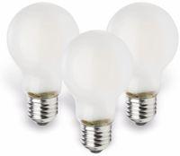 Vorschau: LED-Lampe MÜLLER-LICHT, E27, EEK: E, 4 W, 470 lm, 2700 K, matt, 3 Stück