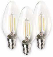 Vorschau: LED-Lampe MÜLLER-LICHT 400291, E14, EEK: A++, 4 W, 470 lm, 2700 K, 3 Stück