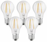 Vorschau: LED-Lampe OSRAM BASE CLASSIC A, E27, EEK: A++, 7 W, 806 lm, 2700 K, 5 Stk.