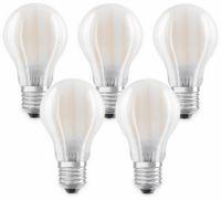 Vorschau: LED-Lampe OSRAM BASE CLAS A, E27, EEK: A++, 7W, 806 lm, 2700 K, 5 Stk. matt