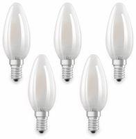 Vorschau: LED-Lampe OSRAM BASE CLAS A, E14, EEK: A++, 4W, 470 lm, 2700 K, 5 Stk. matt