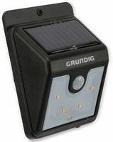 Vorschau: Solar-LED Wandleuchte GRUNDIG 06999, mit Sensor, 40 Lm, schwarz